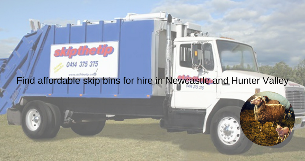 Find affordable skip bins for hire in Newcastle and Hunter Valley